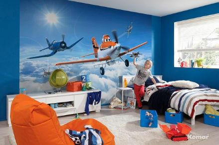Planes above the clouds Disney wall mural